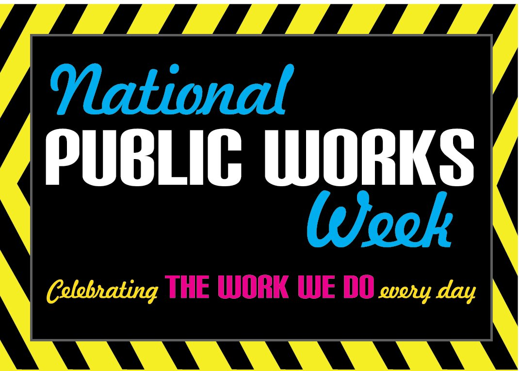 It's National Public Works Week! Thanks to our staff who help keep our sewer systems working every day! #NPWW https://t.co/JjkrFpsdqN