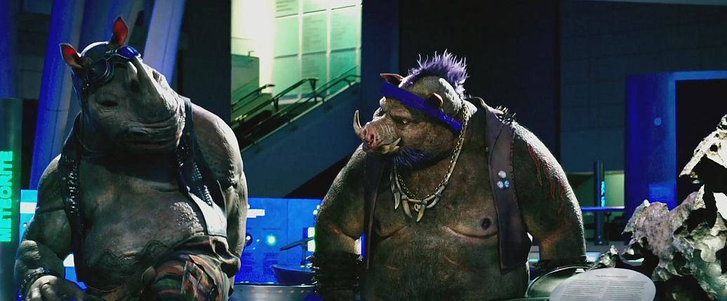 Teenage Mutant Ninja Turtles: Out of the Shadows Trailer Featuring Bebop & Rocksteady 1