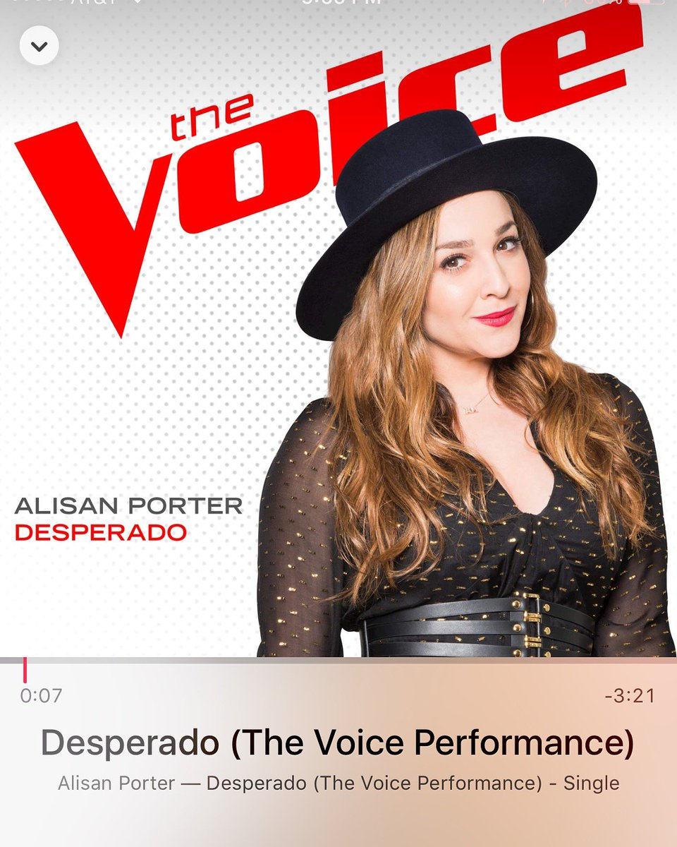 Vote vote vote and download tonight guys! #THEVOICE @alisanporter https://t.co/W8xKP58TYm https://t.co/76nrQXH1xM