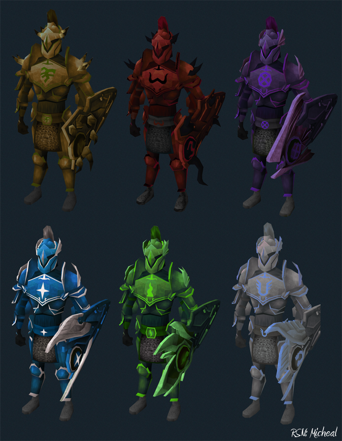 Mikey On Twitter Recolored Rune God Armour