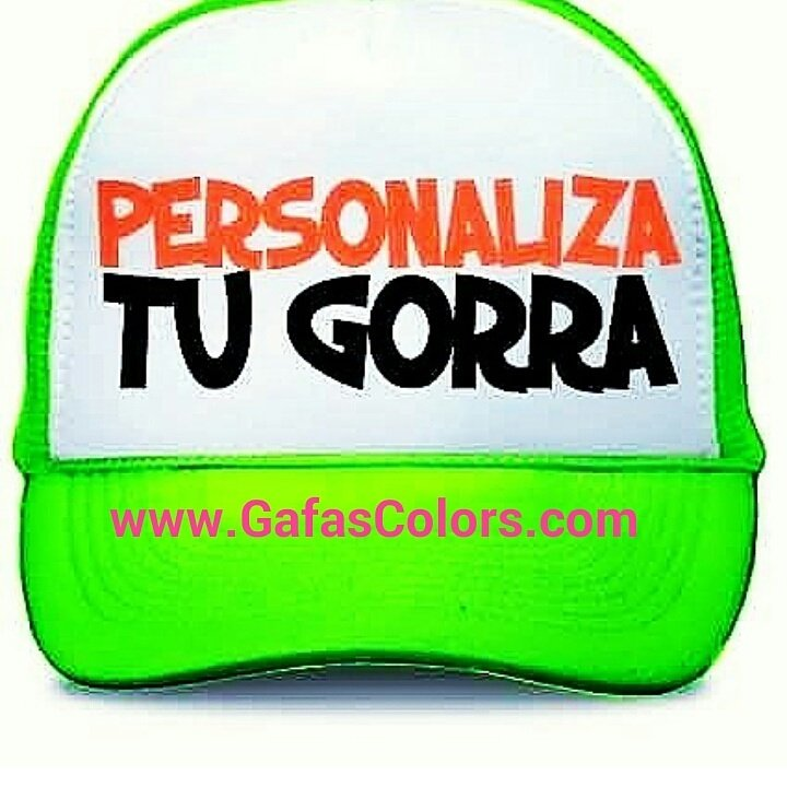 4354ba5d70826 Gafas Colors Gorras on Twitter