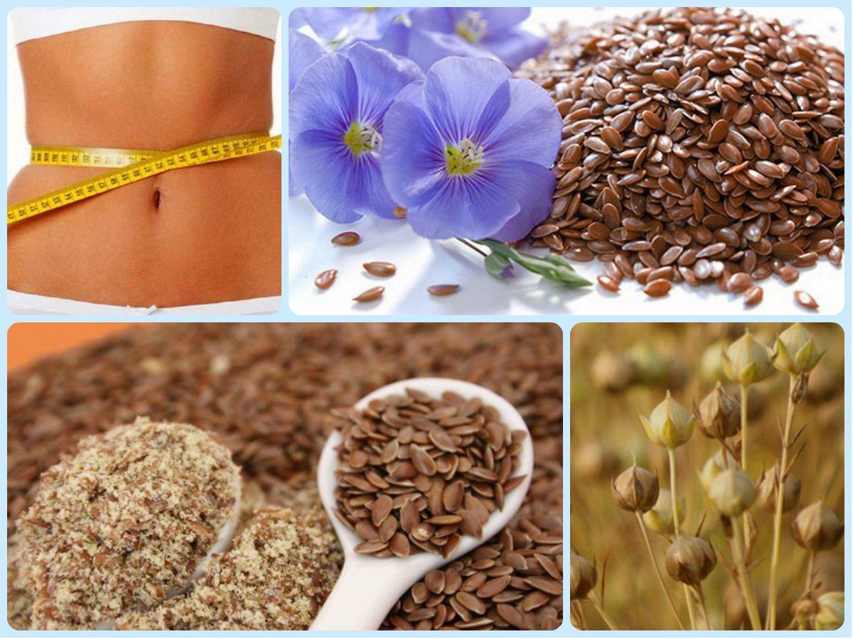 Семя льна польза похудеть