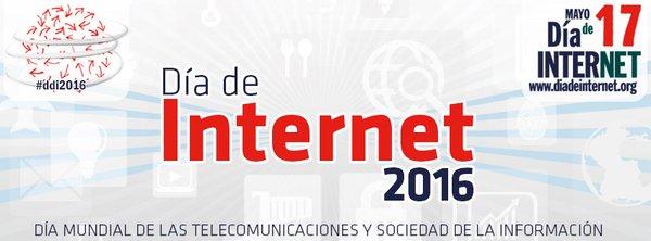 ¡Hoy celebramos el Día de Internet! #DíadeInternet #ddi2016!! https://t.co/N9aoOPSB4f