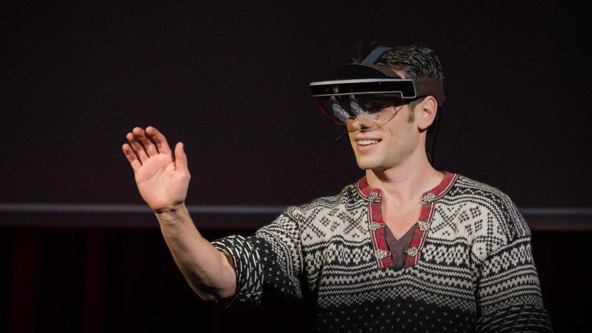 Meron Gribetz: A glimpse of the future through an augmented reality headset