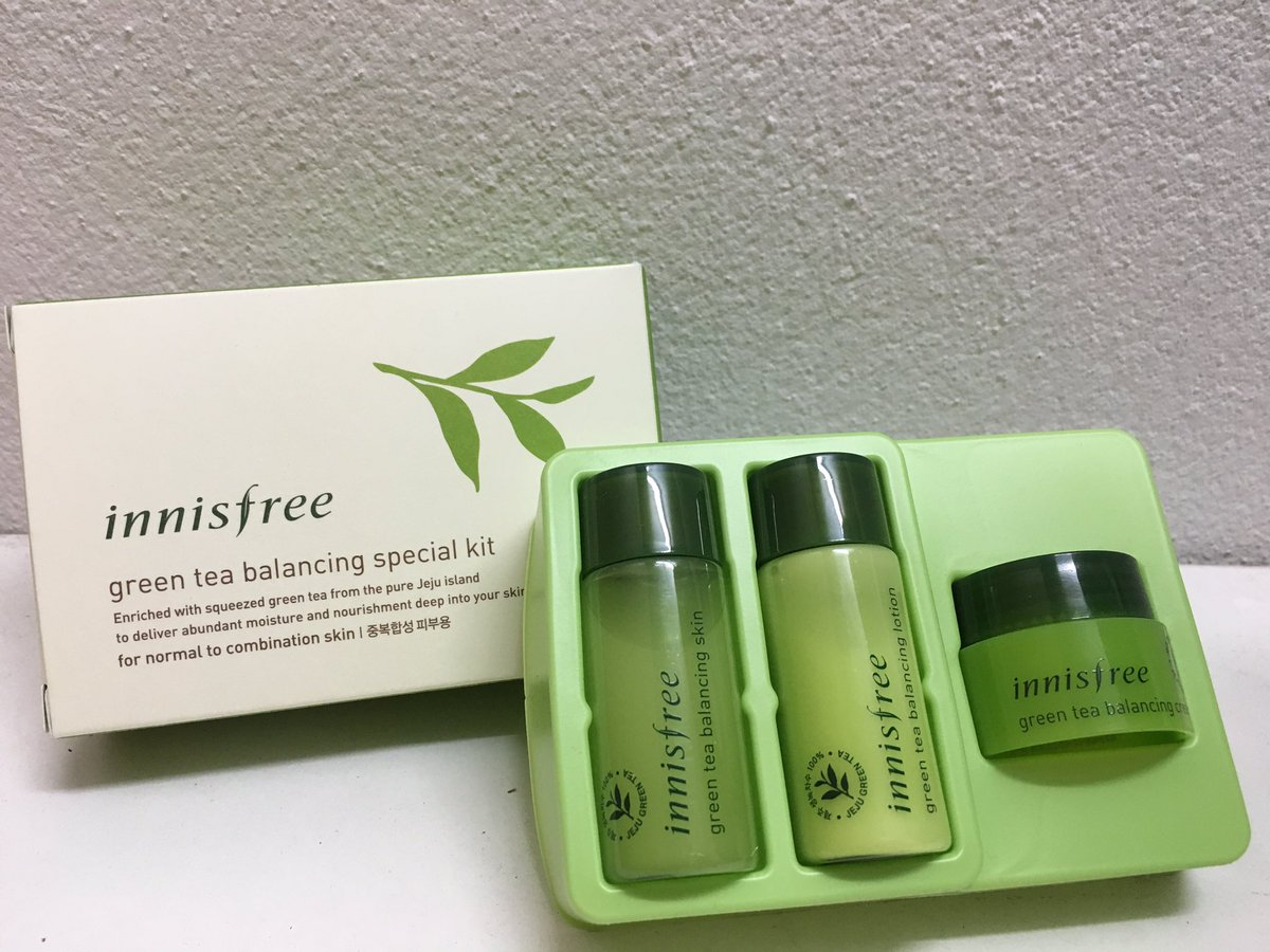 Close On Twitter Sale Innisfree Green Tea Balancing Special Kit 4 Items 200