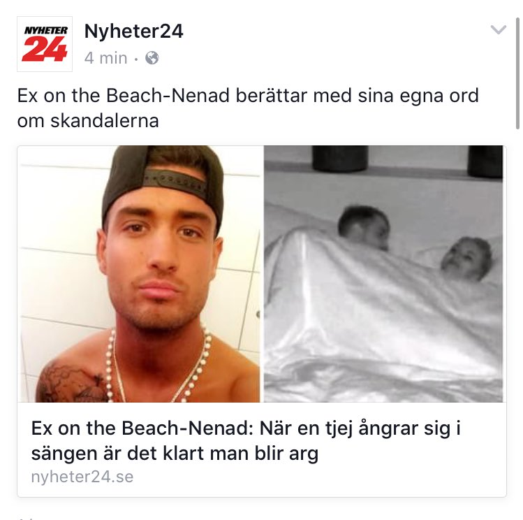 Ex on the beach nenad vidrig kvinnosyn