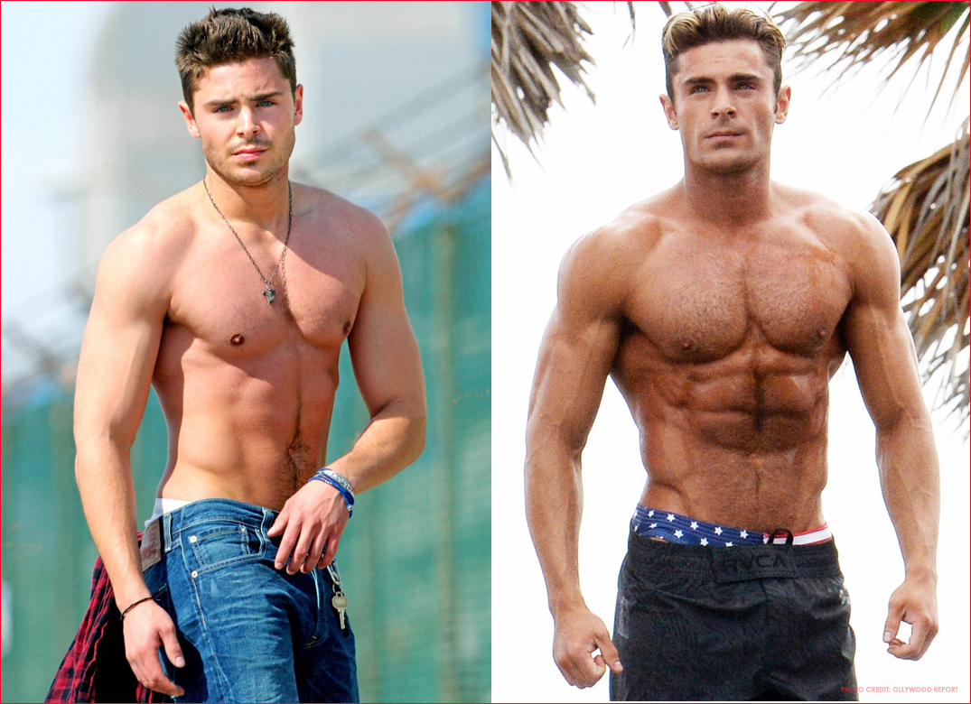 before and after anabolic diet