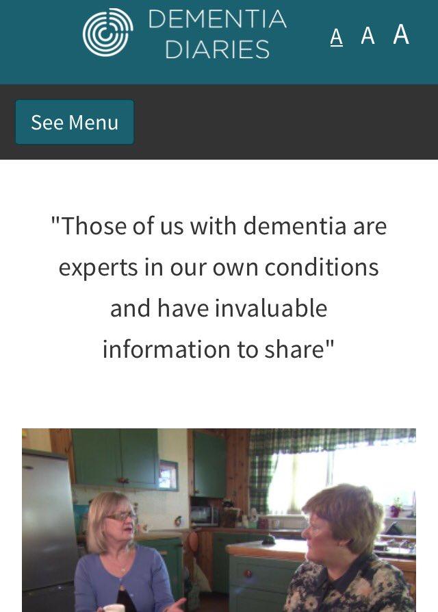 Dementia Diaries - https://t.co/qm3XH8OcHG #behfest16 https://t.co/sFrqs0t4uJ