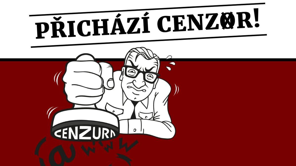 Do ČR přichází cenzura: hlasujte, zda jste pro cenzuru a zdražení internetu