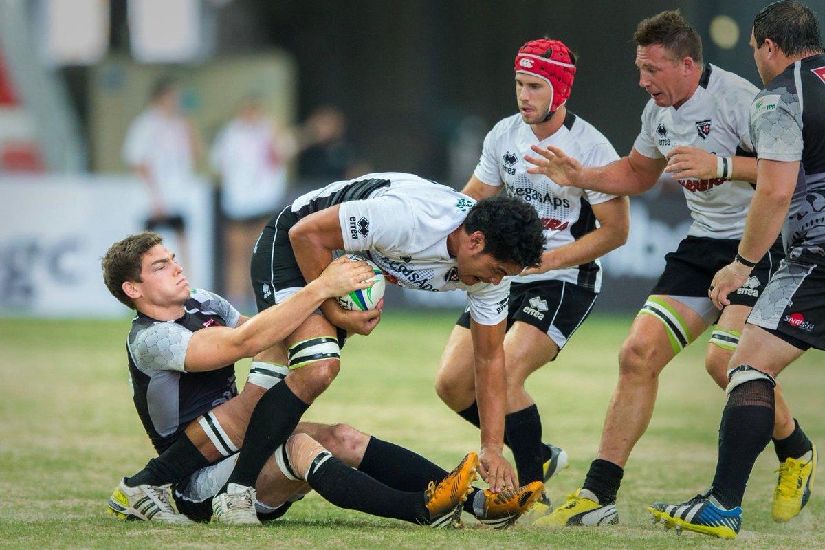 Rugby World Club 10s Mauritius con All Stars italiani