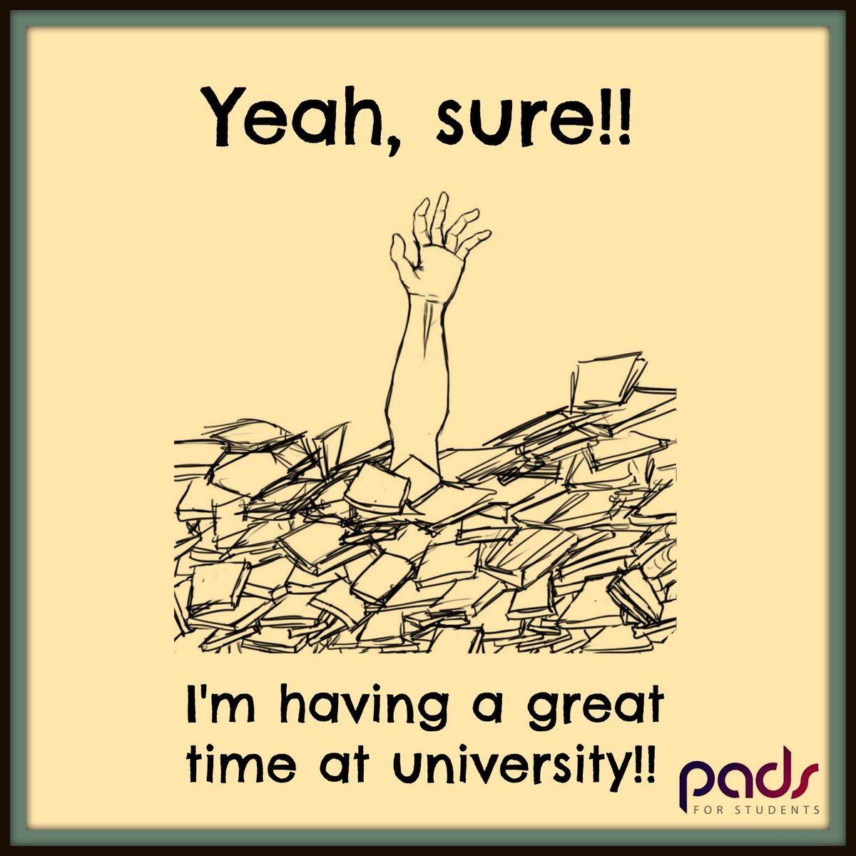 Pads For Students On Twitter Studentlife Funny Quotes