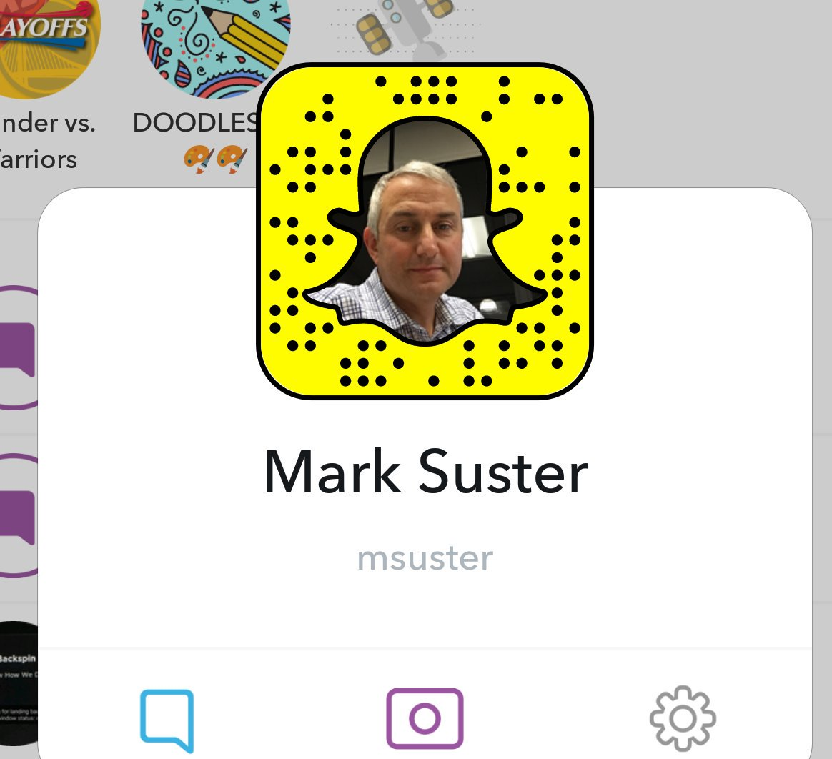 Following @msuster on @Snapchat is like getting micro chapters on the VC world delivered on 'shuffle'