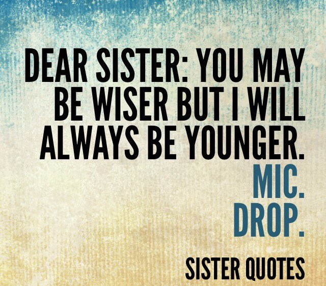 Pretty Sister Quotes Images Gallery -- Sister Quotes Etsy