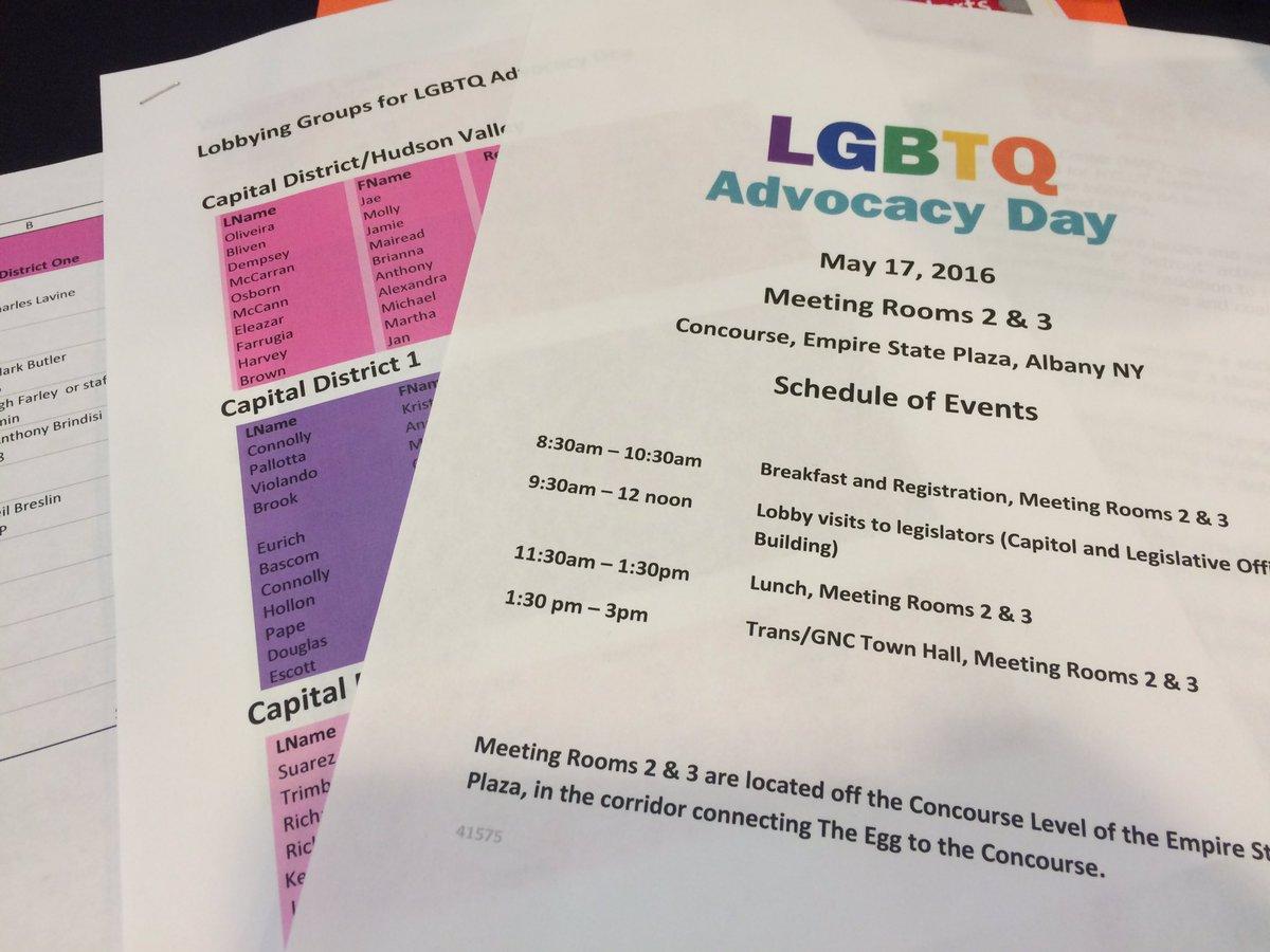 Getting ready to lobby! #WeHaveWorkToDo #LGBTQ https://t.co/6RjKrUChEq