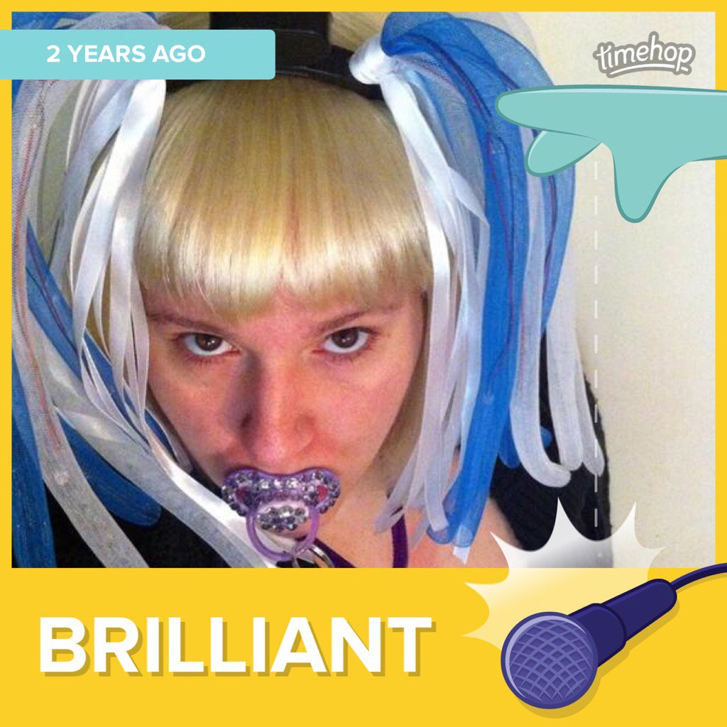 Brilliant #timehop Can't believe it's 2 years today since my #Artrave. Can't wait for the next tour @ladygaga!! https://t.co/clIiF7WtHO