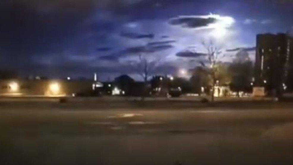 Smentito l'avvistamento Ufo di Maine (Stati Uniti), era un meteorite (Video YouTube)