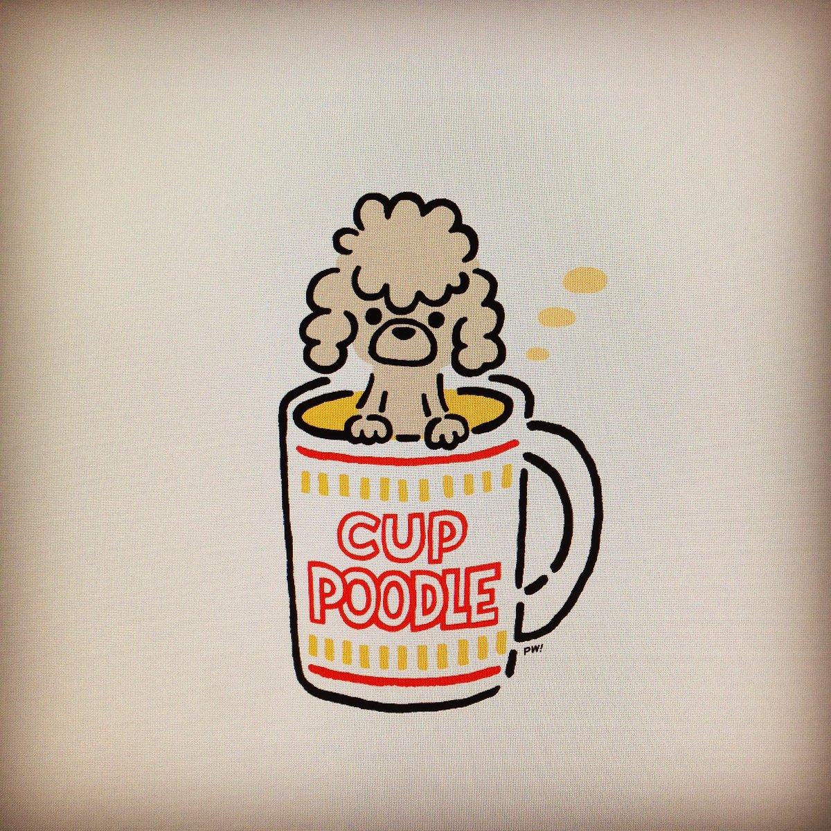 カッププードル CUP POODLE https://t.co/hM5hdZnloX
