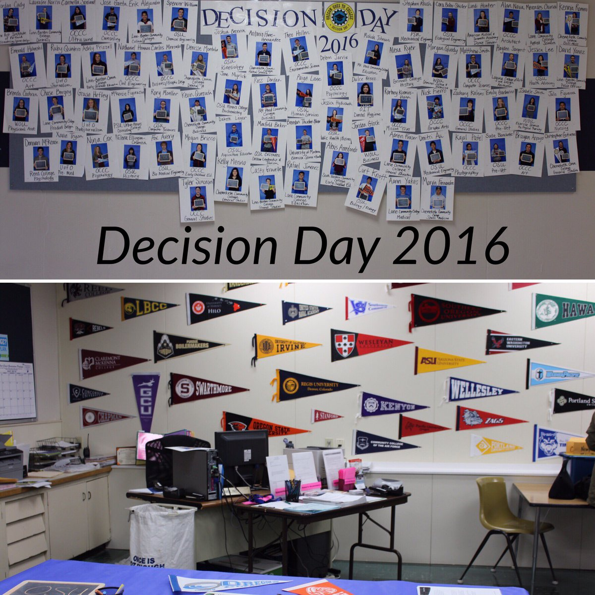 Newport High School Decision Day