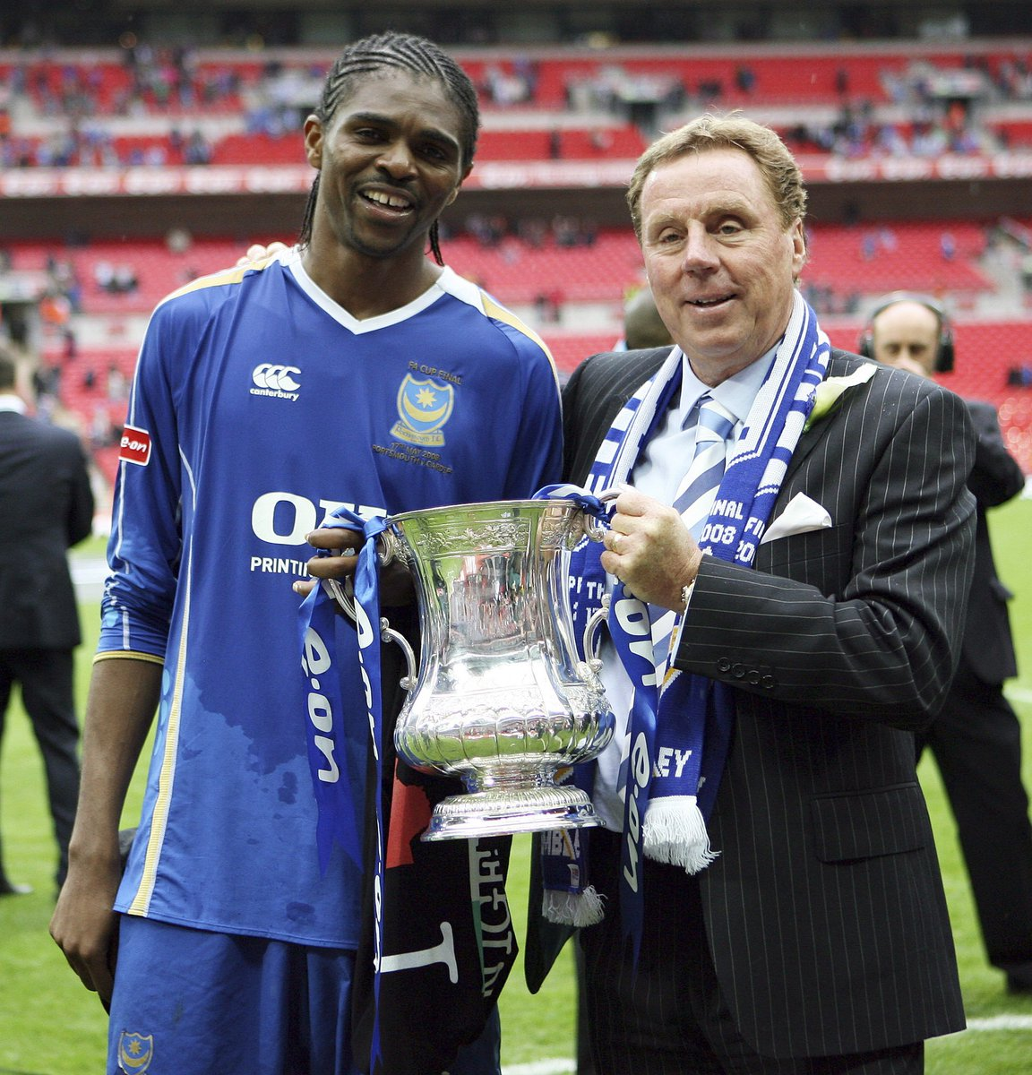 """Squawka Football på Twitter: """"ON THIS DAY: In 2008, Nwankwo Kanu scored the winner as Portsmouth won their first FA Cup in 69 years.… """""""