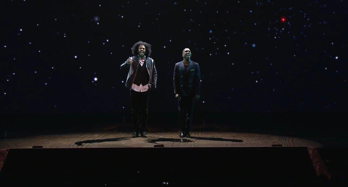.@HamiltonMusical stars @leslieodomjr  and @DaveedDiggs sing @ESPN Upfront https://t.co/lgbwMFhP5P https://t.co/bjKOcqaP3Y
