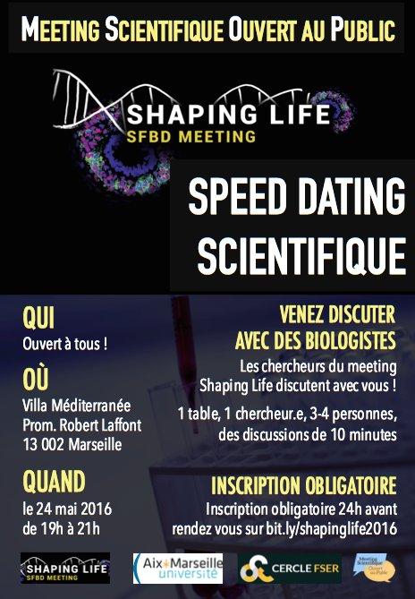 Speed dating scientifique