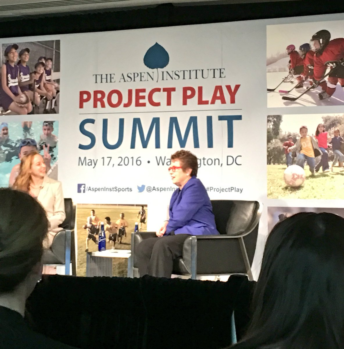 """At that moment I dedicated the rest of my life to equal rights& opportunity for all"" -Billie Jean King #ProjectPlay https://t.co/l2lYXiGRy5"