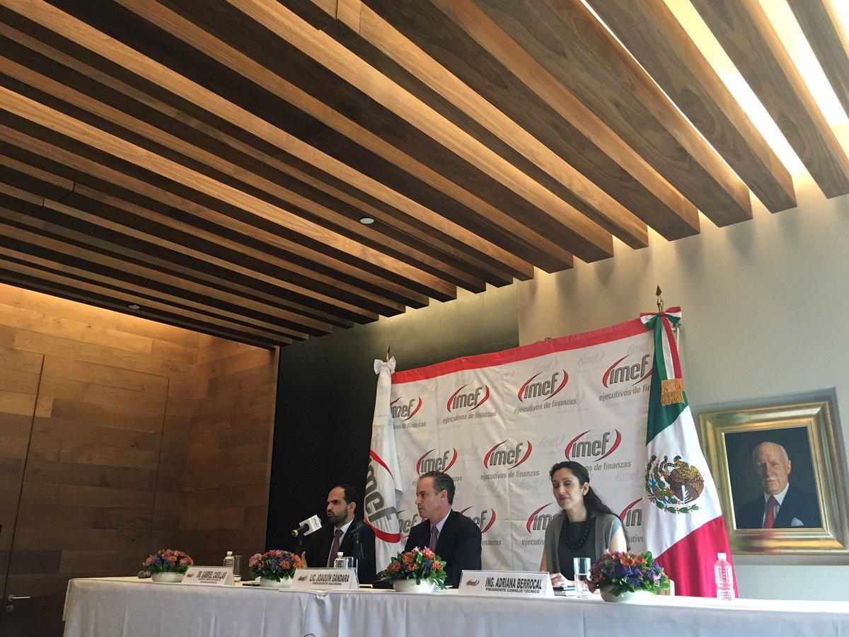 .@EnfoqueNoticias A pesar de la caída de la producción industrial,  México crecerá este año 2.3% estima IMEF https://t.co/hKgXRchcz1