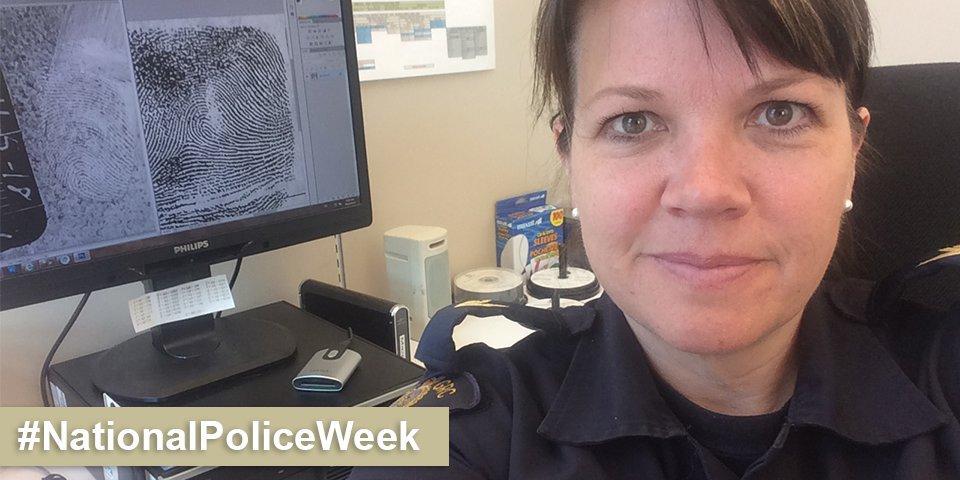 Rcmp On Twitter Forensic Identification Specialist Cpl Margot Estabrooks Analyses Fingerprints Rcmpselfie