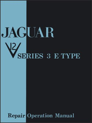 Jaguar Series 3 Service manual