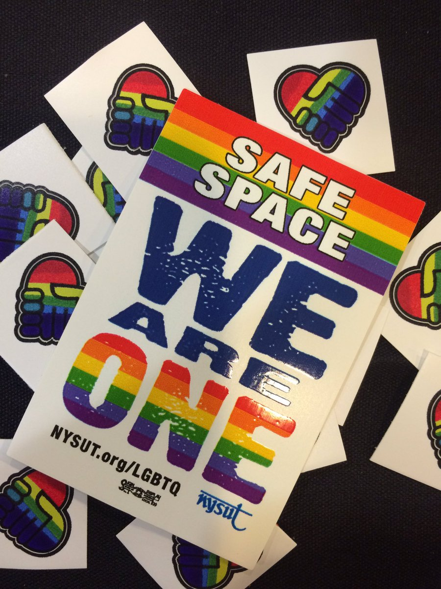 Some LGBTQ swag at #LobbyDay in Albany #LGBTQ rights are human rights https://t.co/SsMpZpsyYh