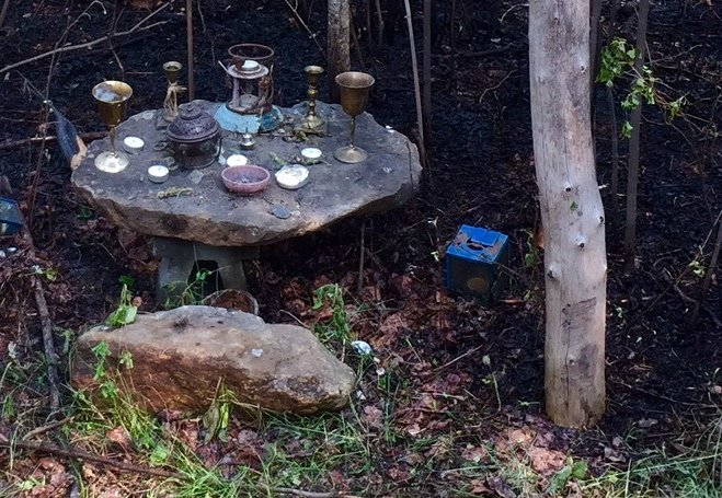 Canadian Fire Spares Polytheist's Altar and Shrine https://t.co/1xnZ7PuwG3 #pagan #polytheism #CanadaFire https://t.co/fe8XmtAHjj