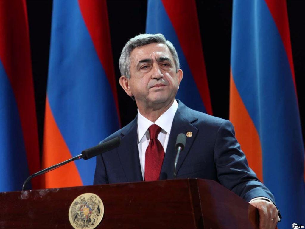 Серж Саргсян возглавит пропорциональный список Республиканской партии Армении
