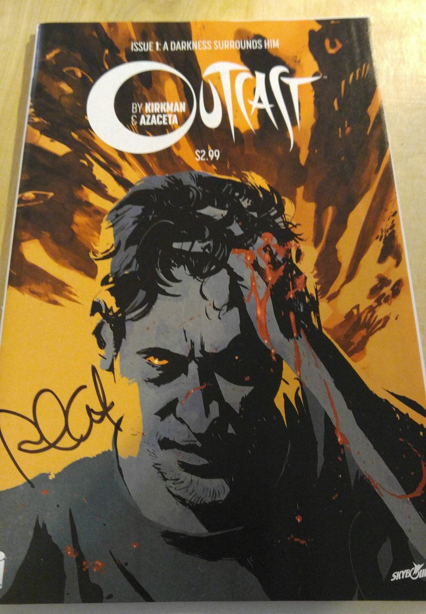 Retweet for a chance to win a copy of Outcast no.1 signed by @paulazaceta! Winner picked tomorrow 5/18 12PM est! https://t.co/23KaoAb2Tr