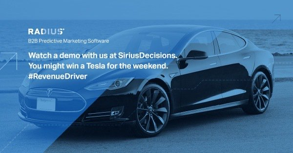 Going to be at #SDSummit? Win a tesla for the weekend! Stop by our booth #240 for a demo  https://t.co/6af4CpFGbP https://t.co/5ocuHTbyQd