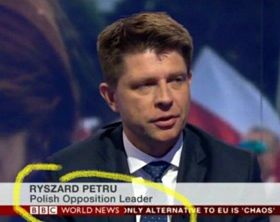 Polish Opposition Leader