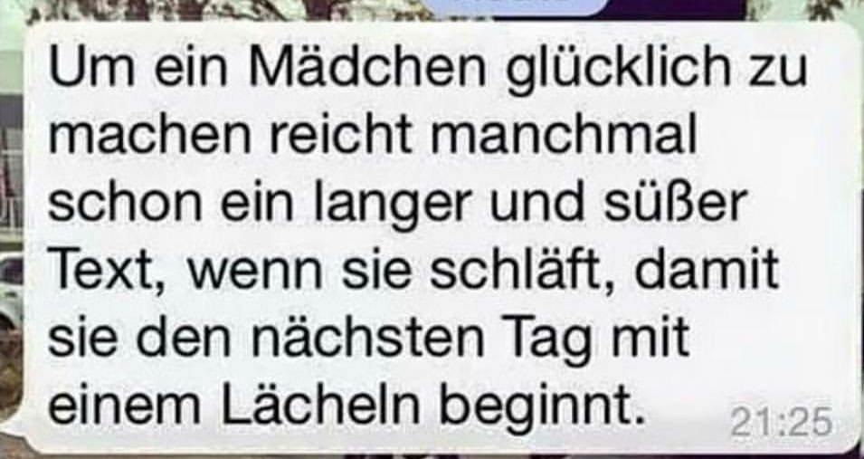 Langer text süßer Komm, süsser