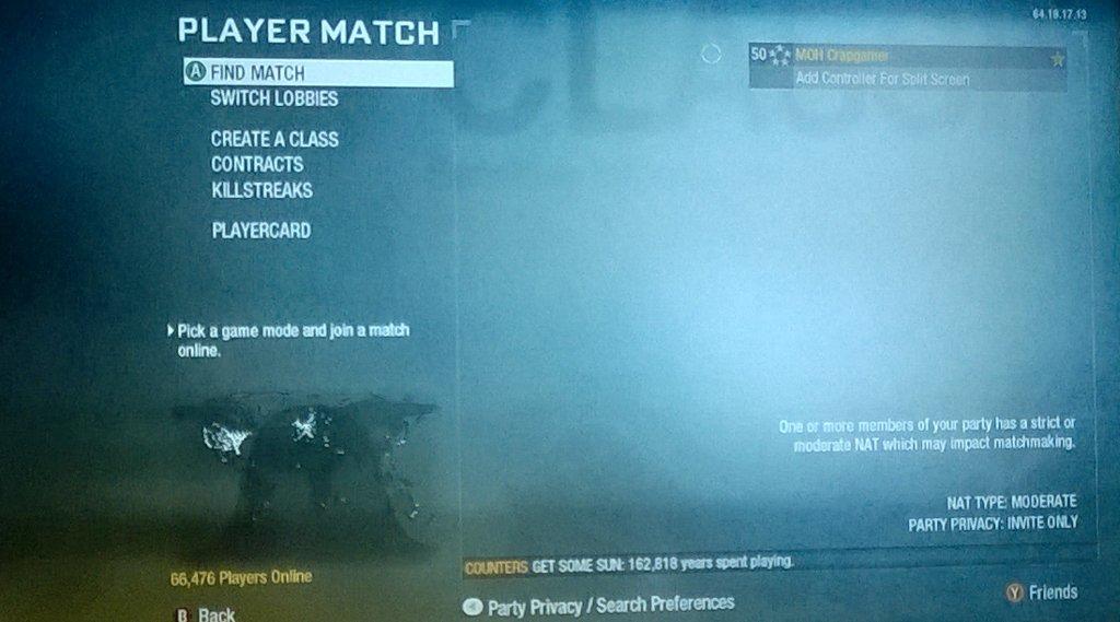 Black Ops 2 matchmaking ne fonctionne pas coutumes datant des États-Unis