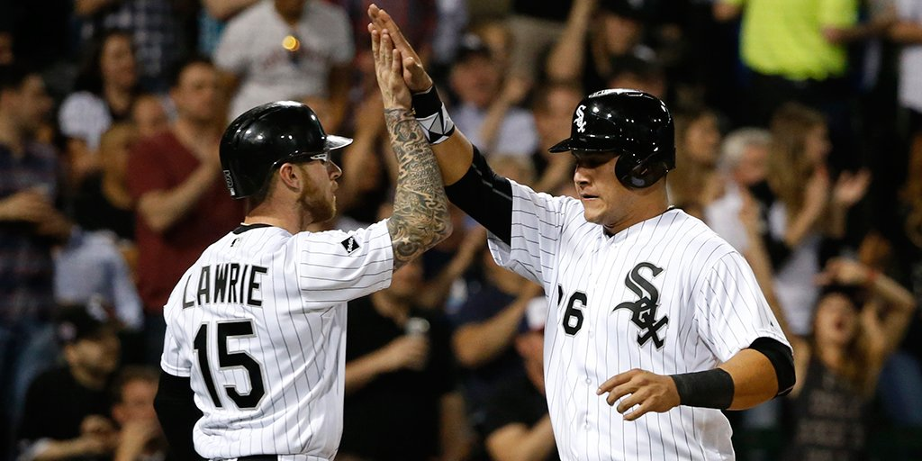 Your White Sox are hitting .294 with 9 HR & 57 runs scored in the last 9 games. #SoxStats https://t.co/SGUDD5I2o2