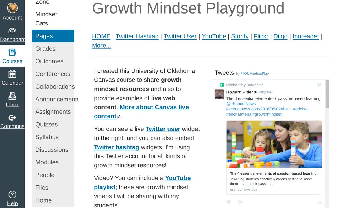 Excited for #GrowthMindset Playground Canvas course now up in our OU Canvas space! https://t.co/hau0tc5wd1 #OU_LMS16 https://t.co/D7uQvu3w7u