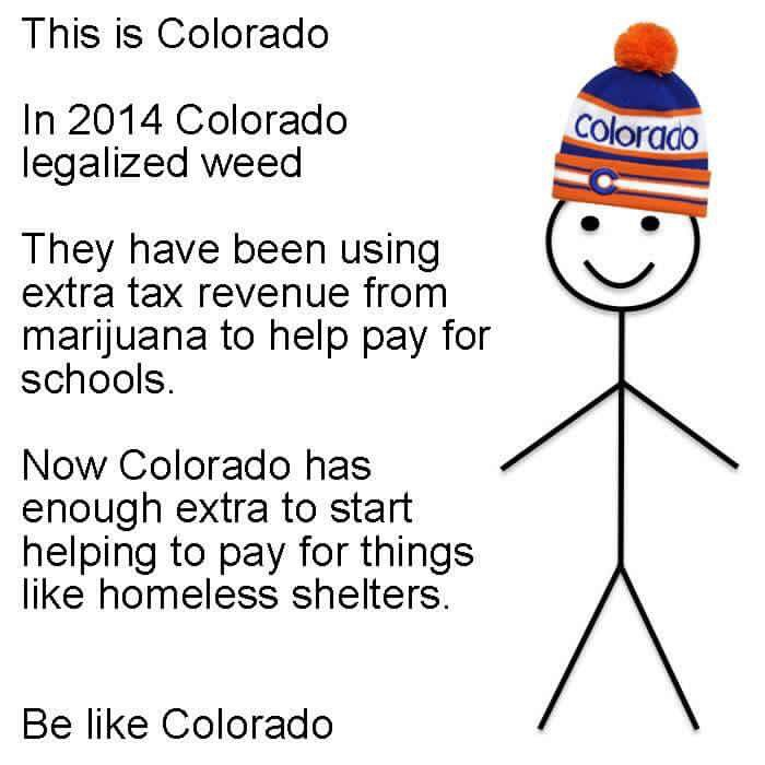 Be like Colorado #cannabis https://t.co/6Dqiwwkyre