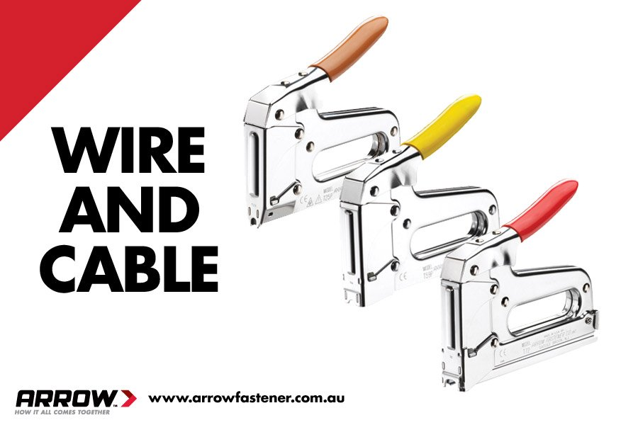 If you're a tradie installing power or comms cables, we've got staple guns designed for you: https://t.co/5l4gWSImI3