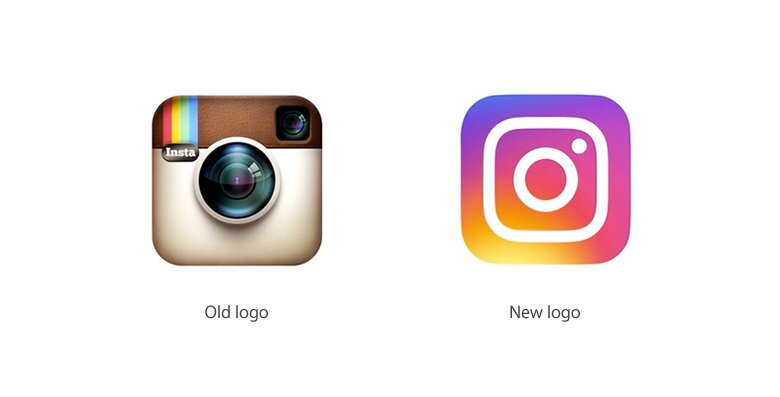 I'm not a fan of Instagram's new logo.  It looks like it was made by a first year art school student. https://t.co/cobkNuECWM