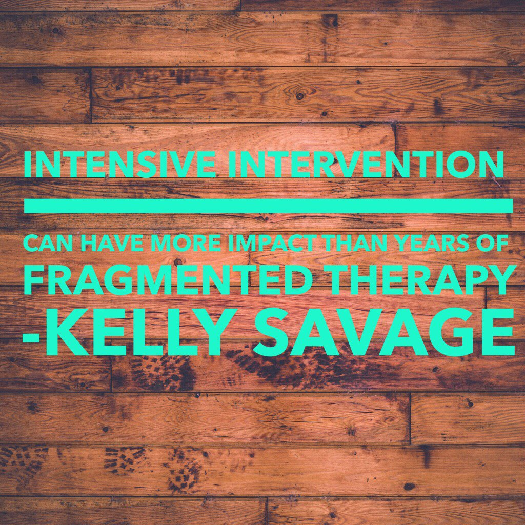 Intensive interaction can have more impact than years of fragmented therapy #spaconf https://t.co/zmw1zEQ0AZ