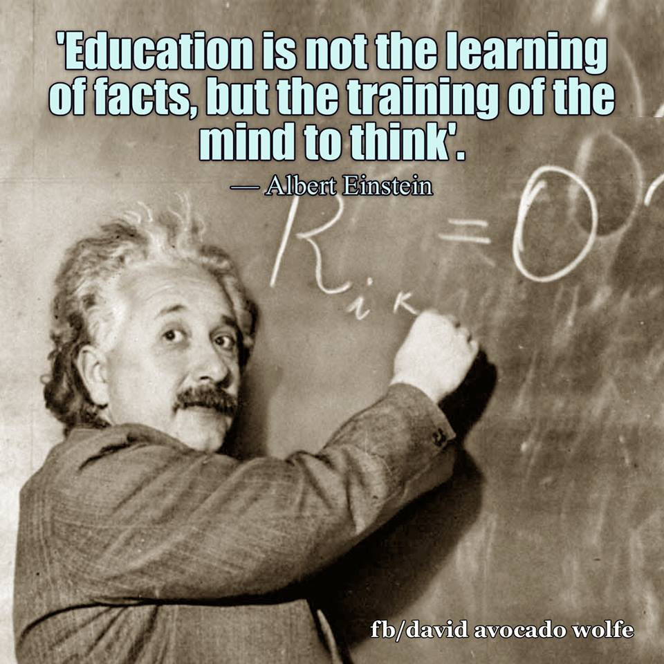 David Wolfe On Twitter Education Is Not The Learning Of Facts