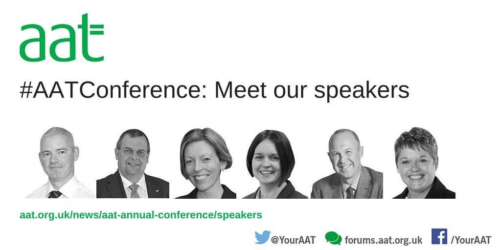 Check out the biographies of the #AATConference speakers. Who will you see on the day? https://t.co/OAUcyhcawZ https://t.co/R2zncq7c13