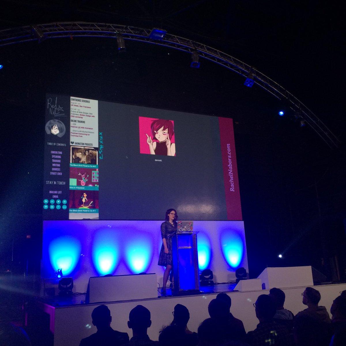 @rachelnabors onstage! https://t.co/8lDraPZdQU