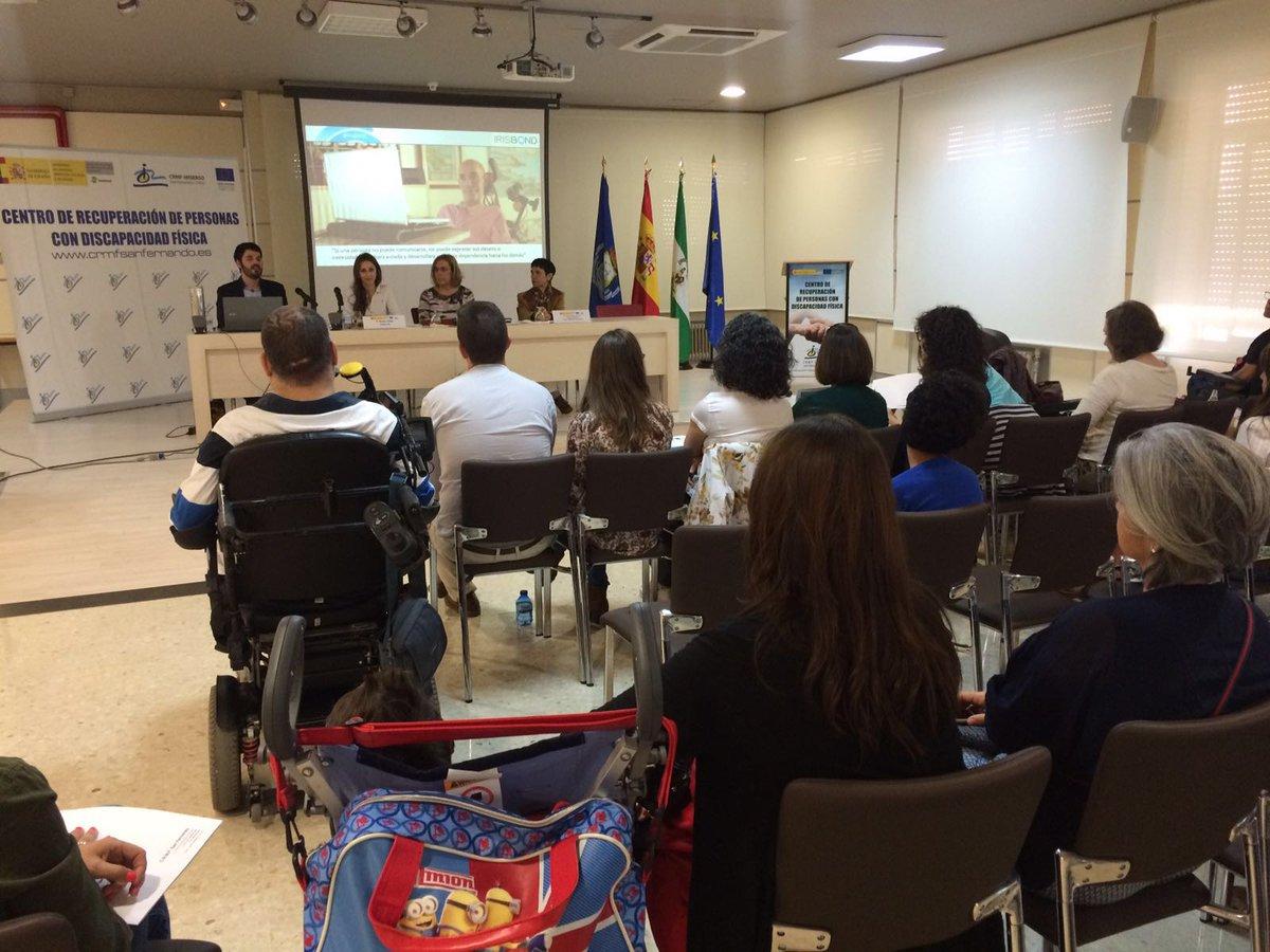 Empezamos la presentación en #Cádiz con Sol Solis, Manuela Ruiz y la directora del @crmfSf #Irisbond https://t.co/yKR8dhCP9u