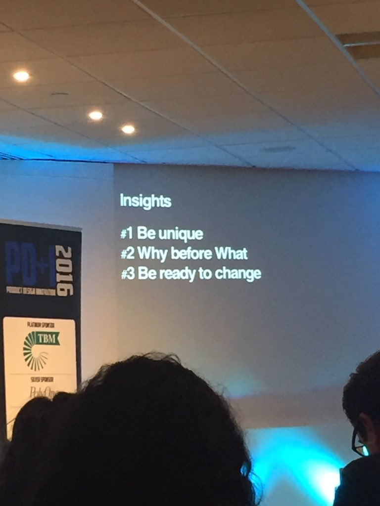 @pdesigni focus on Why before the What - David Tonge #pdesigni https://t.co/8bygqelhlX