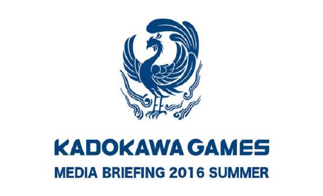 Kadokawa Games E3 2016 Press Conference 1