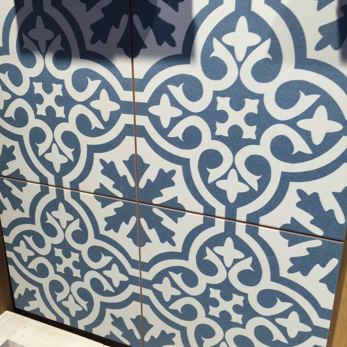 Andrew Dunning On Twitter Love The Refreshed Toppstiles Boutique Islington Upper Street Really Like Blue Berkeley Patterned Tile